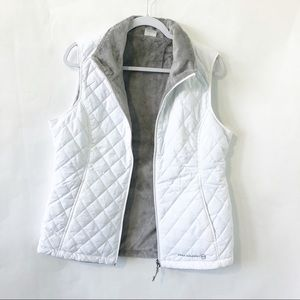 Free Country quilted white vest